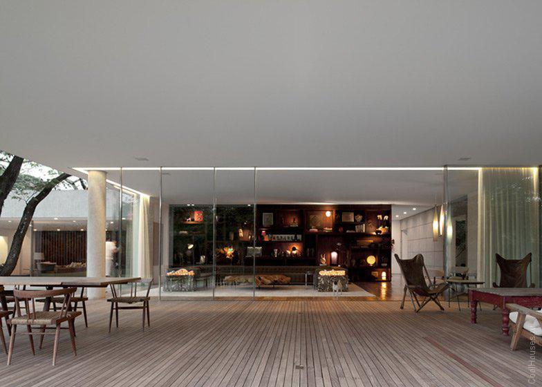Большой частный дом в Бразилии