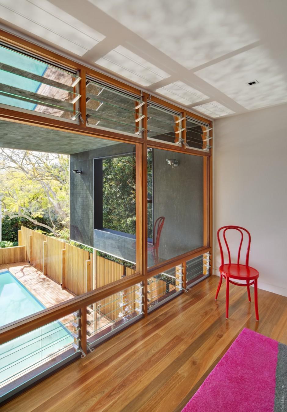 Деревянный дом в Австралии