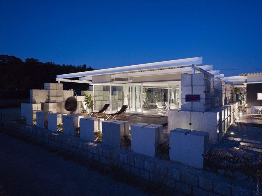 Стеклянный дом в Японии