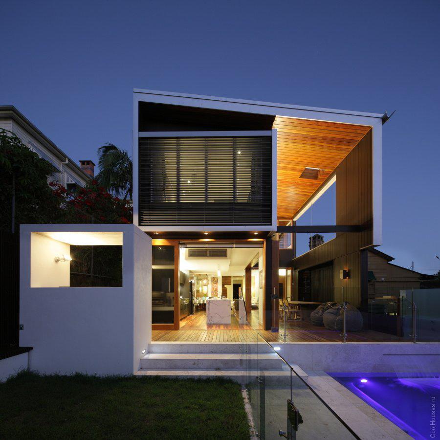 Загородный современный дом в Австралии