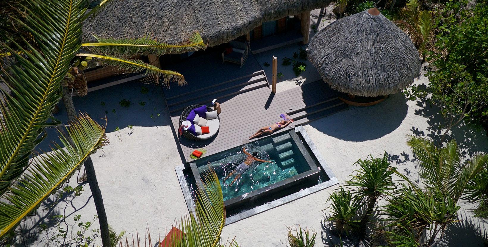 35 вилл на острове - великолепный курорт The Brando