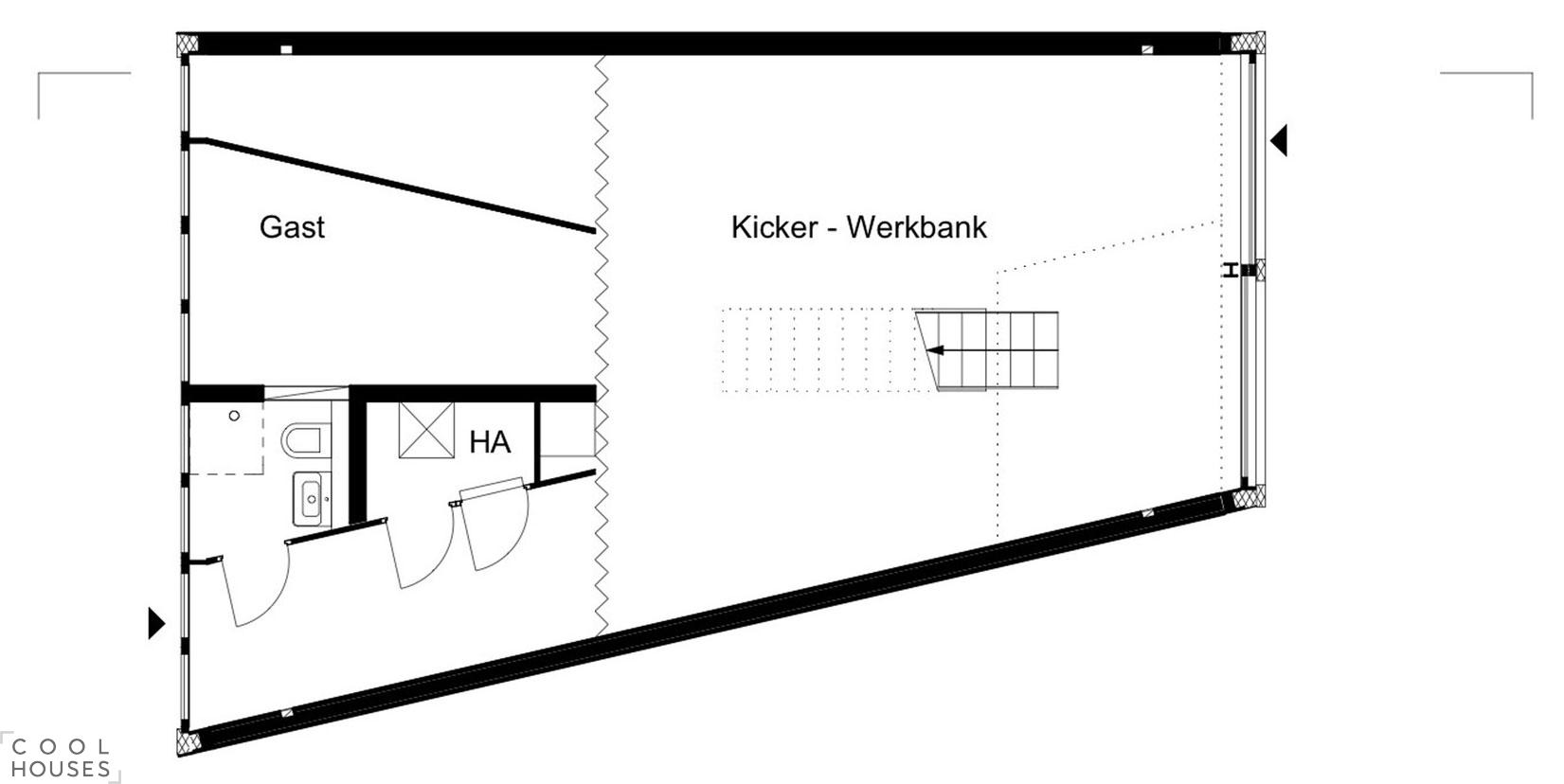 B14 - это новый таунхаус в стиле лофт в Берлине