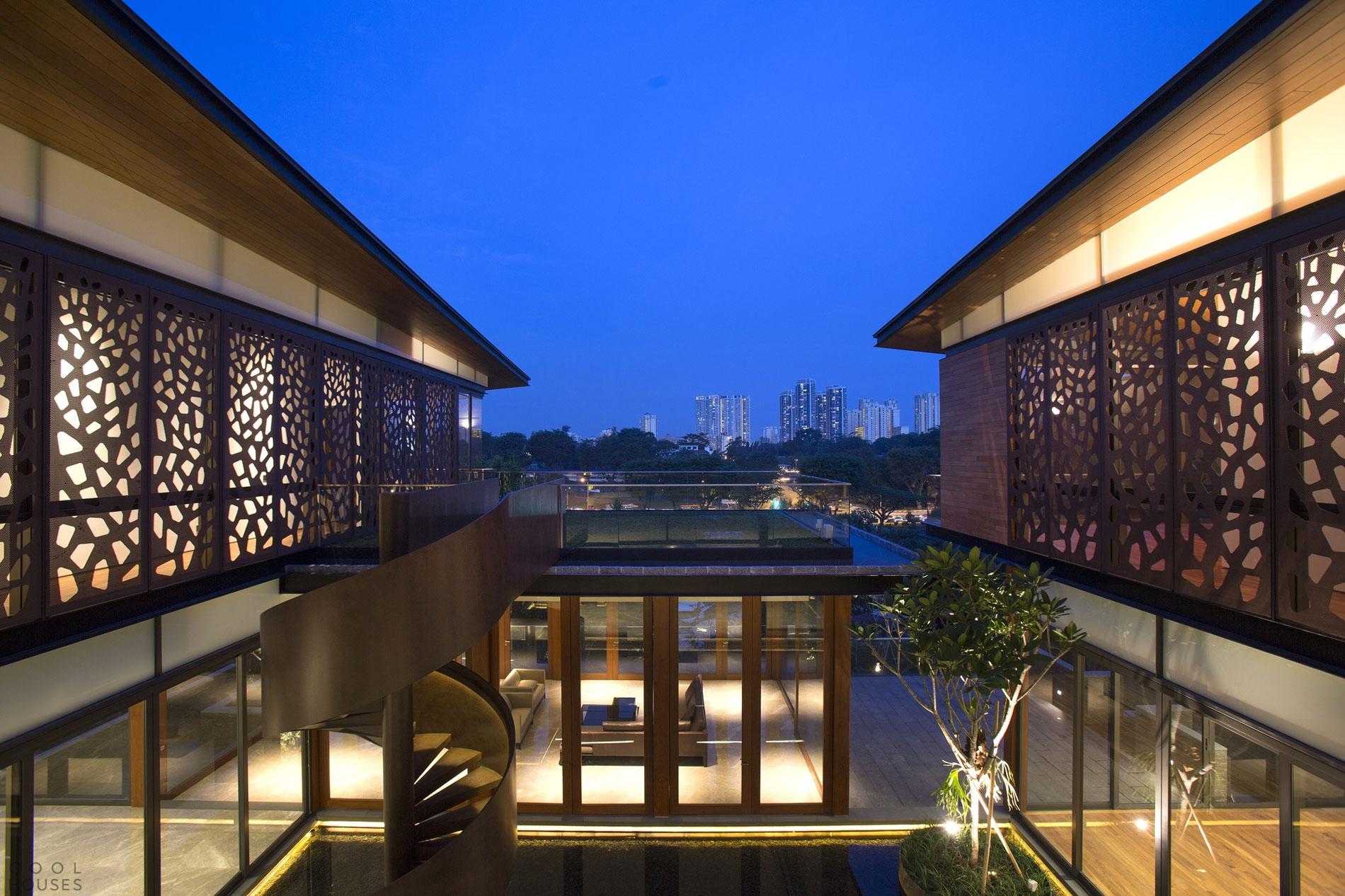 Большая резиденция в центре Сингапуре от AR43 Architects