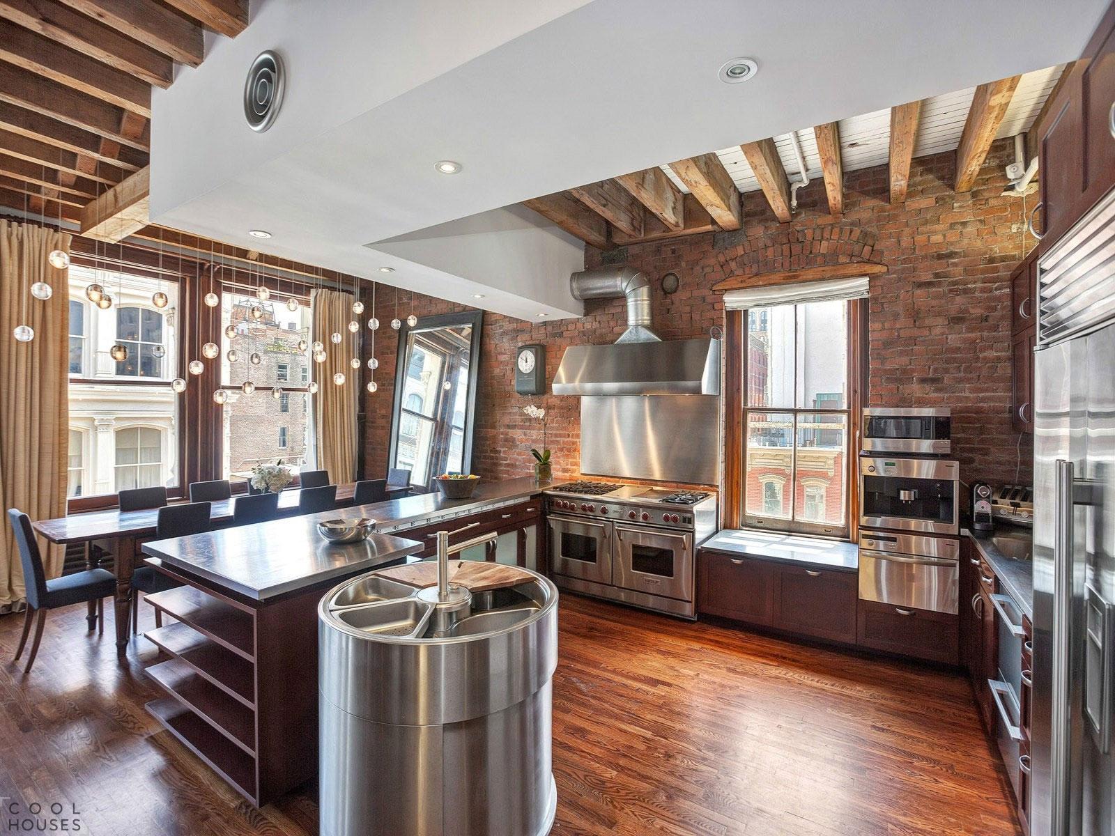 Классические апартаменты в Нью-Йорке