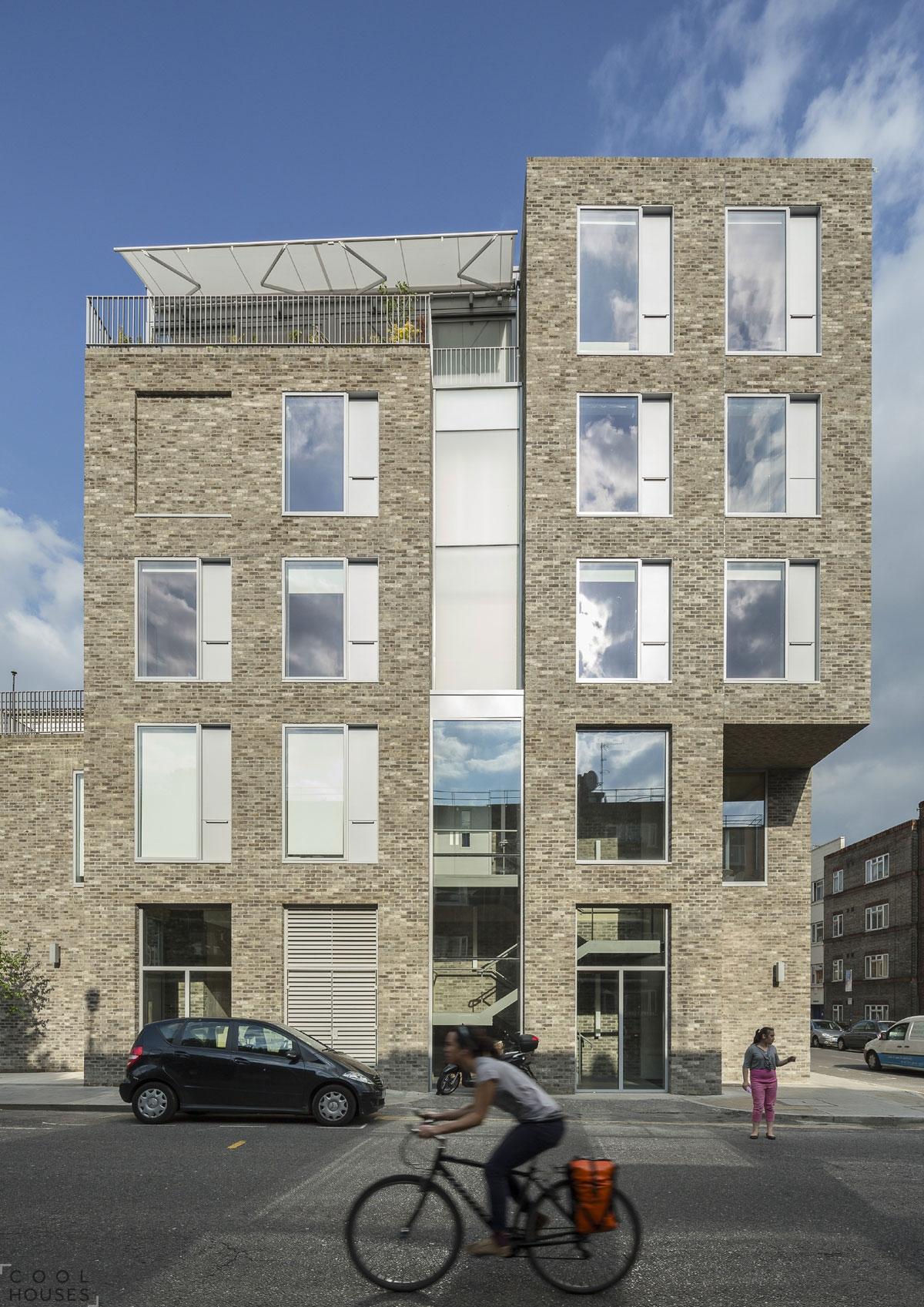 Небольшой дом с уютными квартирами, Лондон