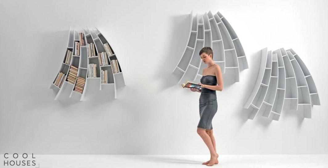 Оригинальный книжный шкаф от SABA Italia