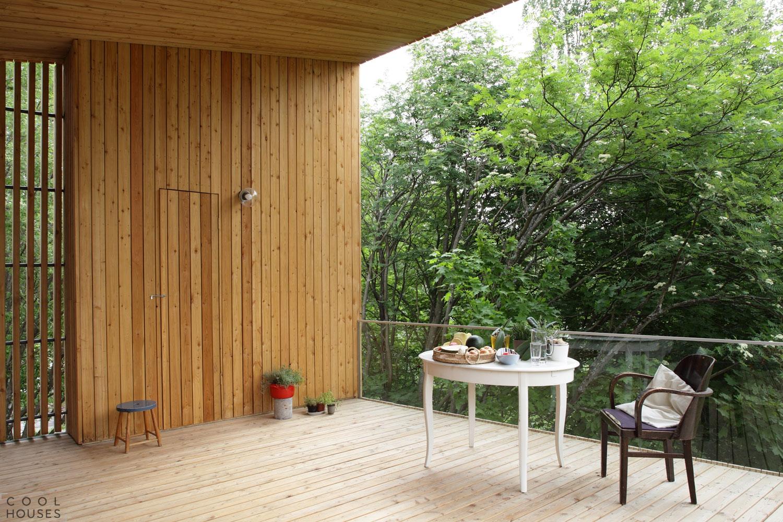 Прекрасный деревянный дом M-M для большой семьи в Финляндии