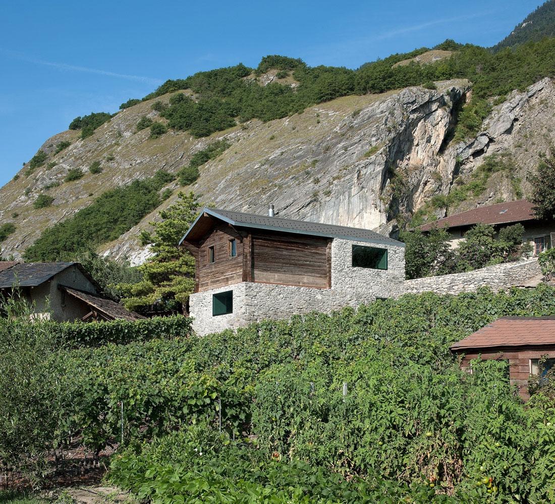 Реставрация старого дома в Швейцарии