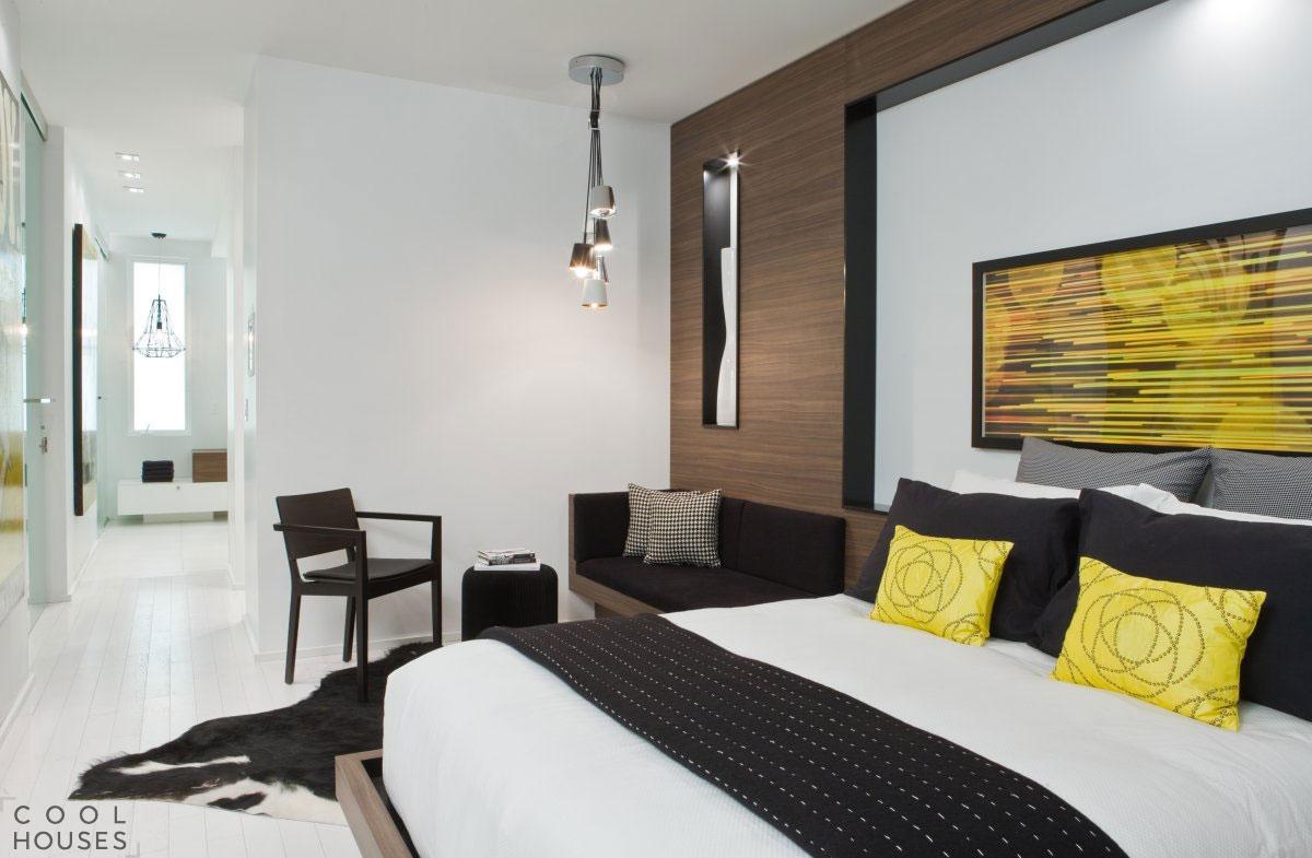 Современная квартира с минималистичным дизайном в Канаде
