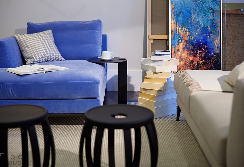 Современный дизайн интерьера квартиры в Киеве от Рины Ловко