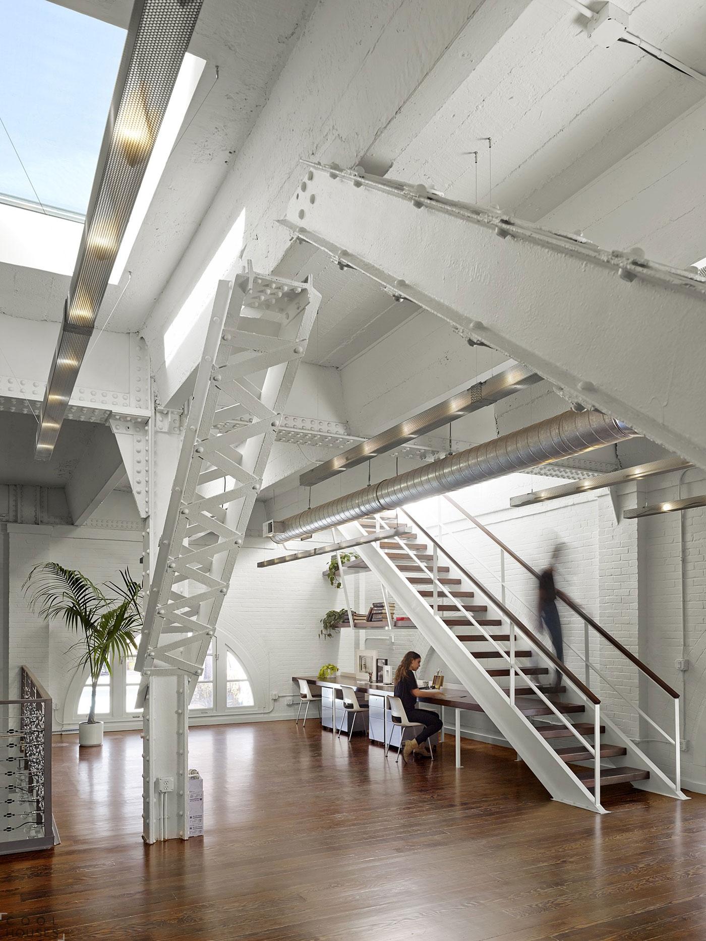 Современный коворкинг центр SOMA Live/Work в Сан-Франциско