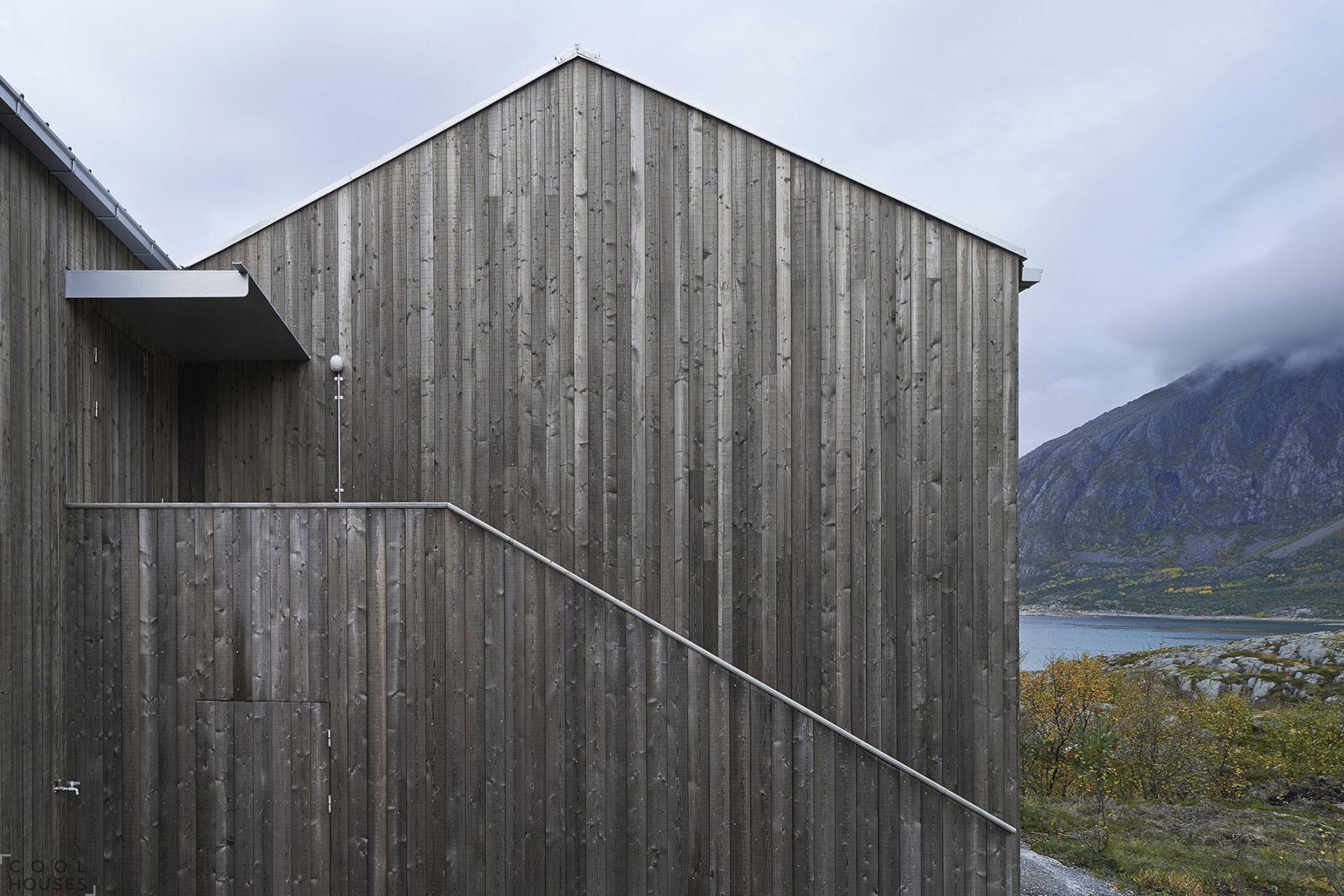 Современный уютный сельский домик в Норвегии