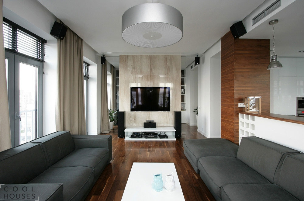 Уютная современная квартира в Днепропетровске с видом на реку