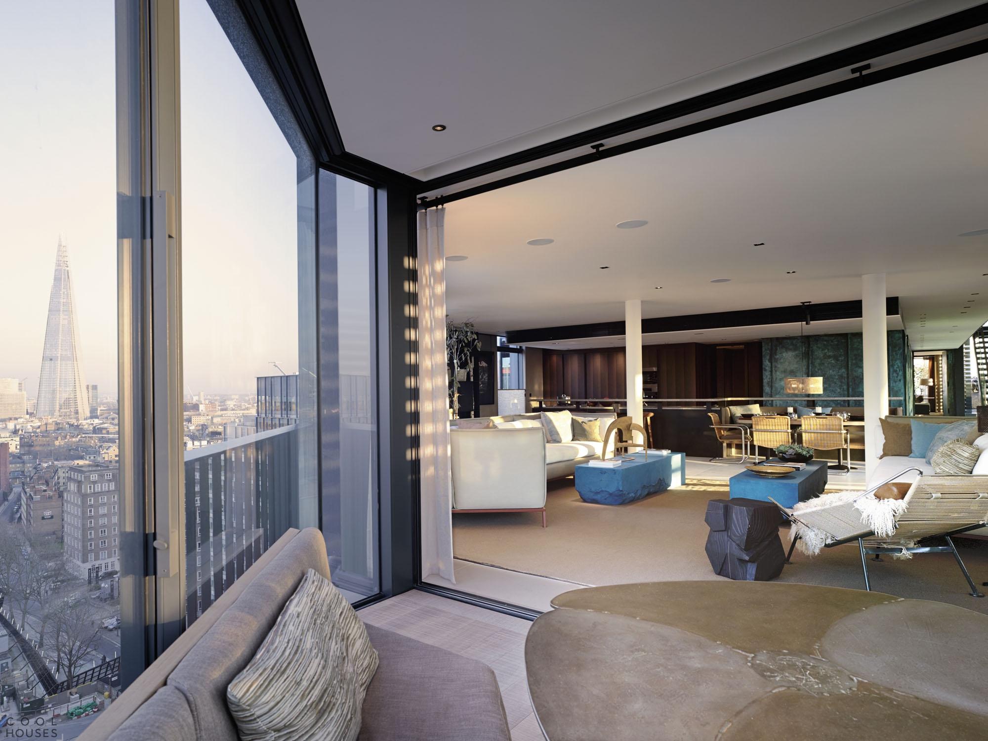 Уютный пентхаус с отличным видом на Лондон