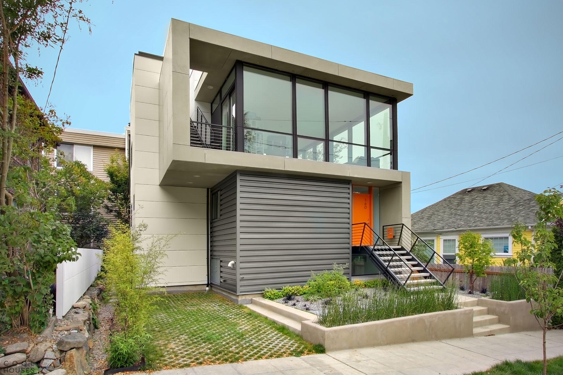 Загородный дом с ярким дизайном от Pb Elemental Architecture, Сиэтл