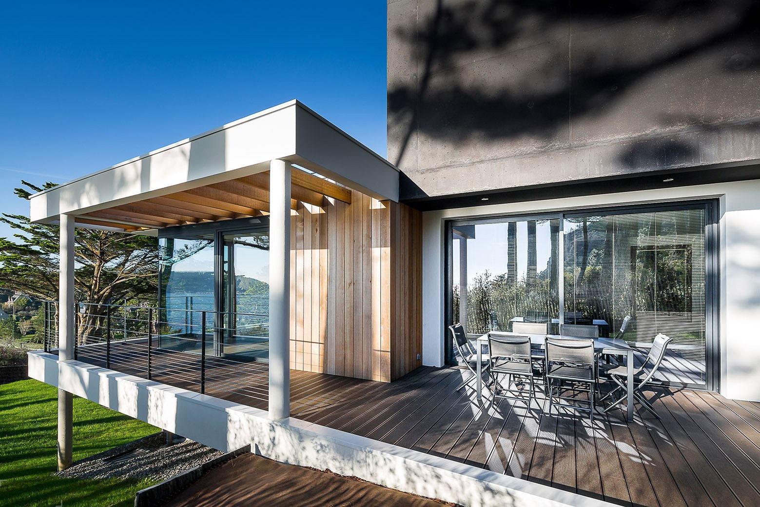 Частная резиденция на полуострове Крозоне, Франция, с потрясающим видом на залив