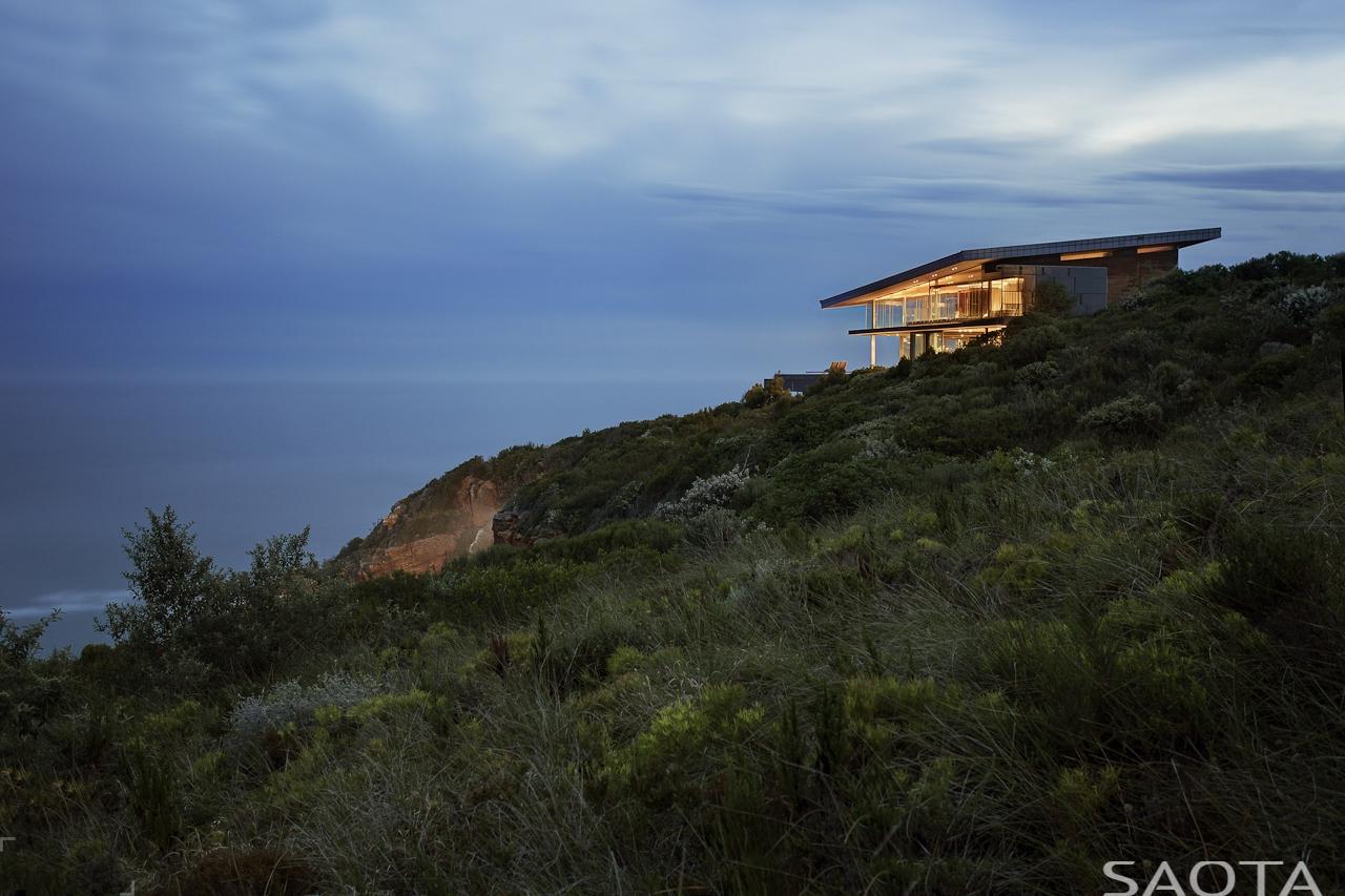Очаровательная загородная вилла на берегу океана в Южной Африке