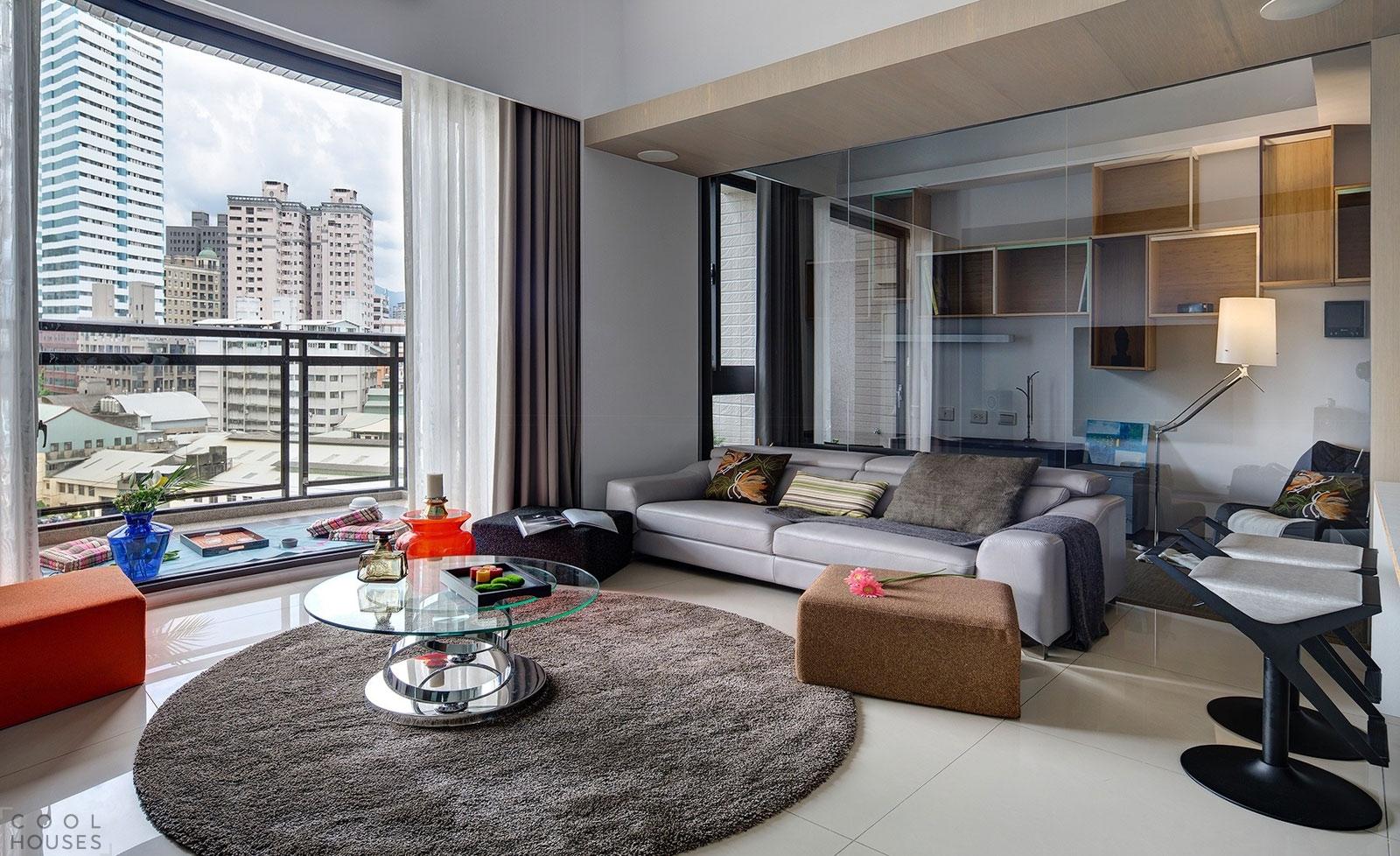 Современные апартаменты Wood Box в Тайване