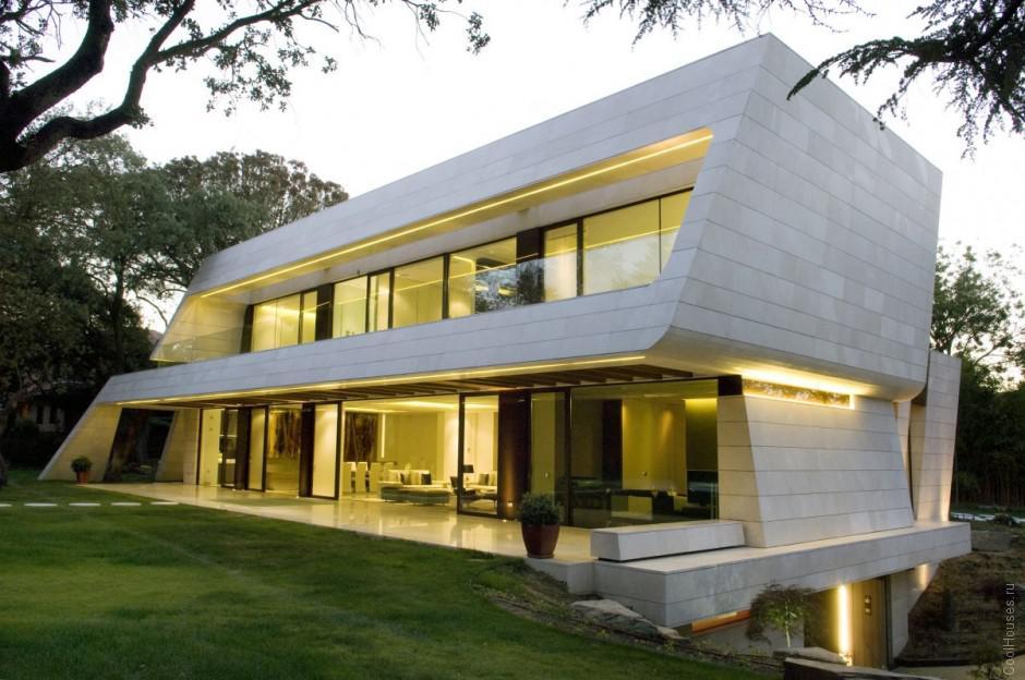 Современный дом в Мадриде