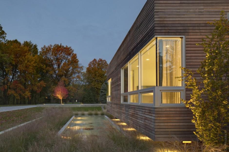 Сорвеменная резиденция и интерьер дома в Огайо