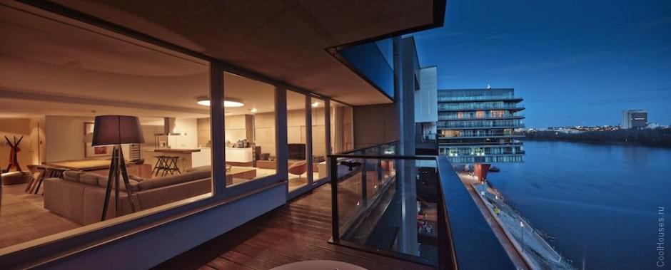 Современный интерьер квартиры в Братиславе