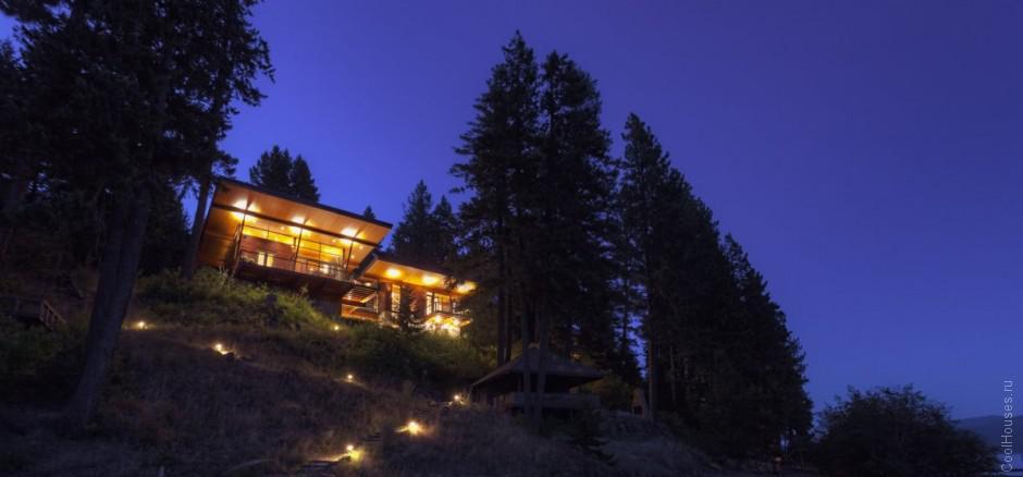 Уютный загородный дом на озере