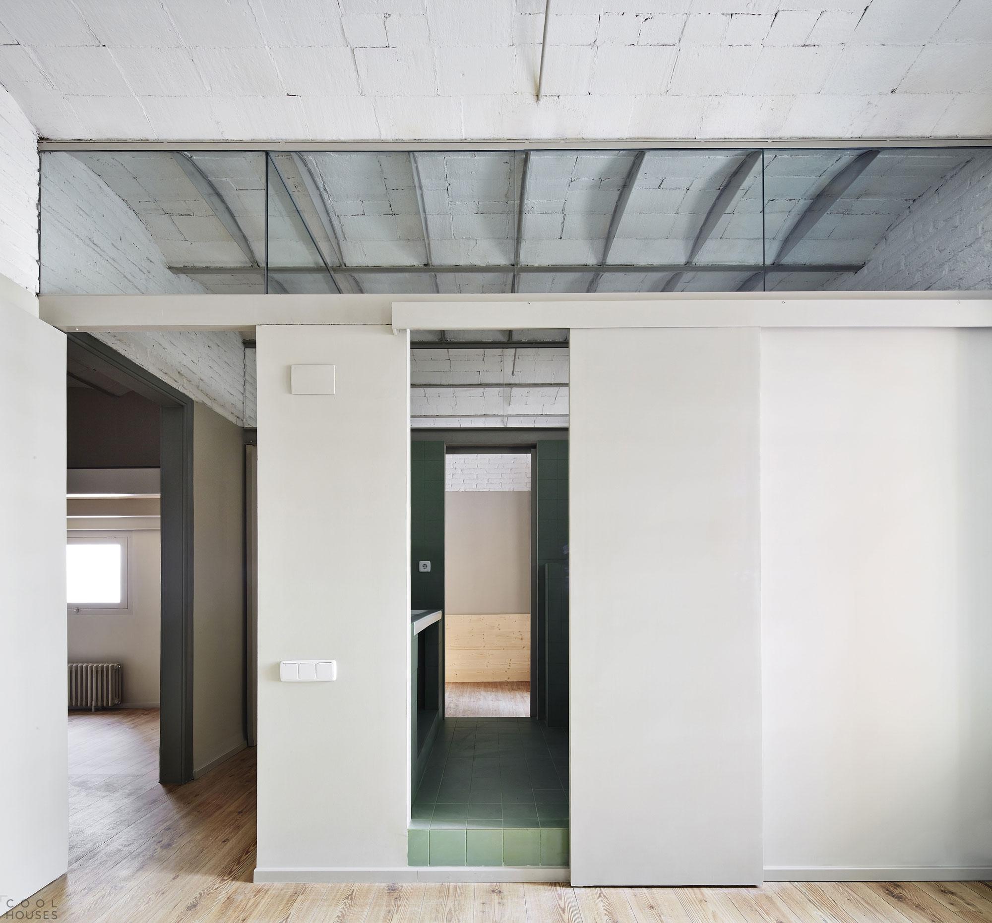 Дизайн в квартире в стиле минимализм, Испания