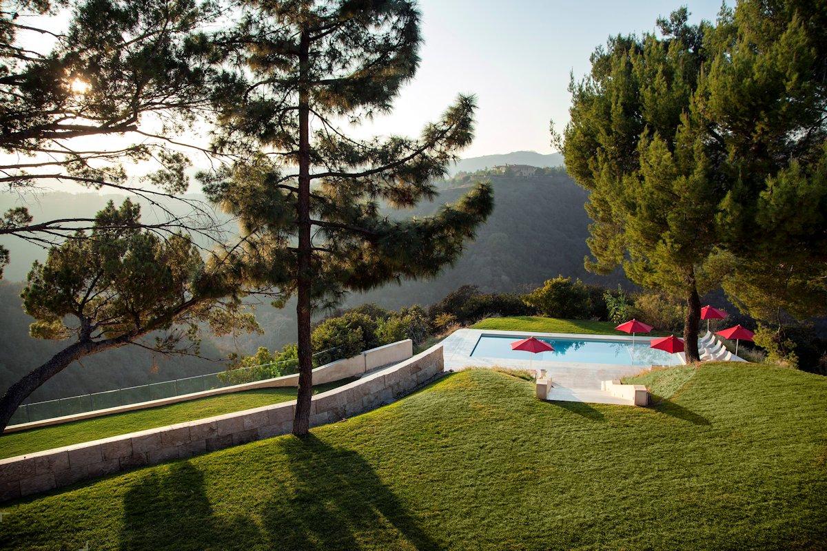 Красивая вилла на холмах Лос-Анжелеса