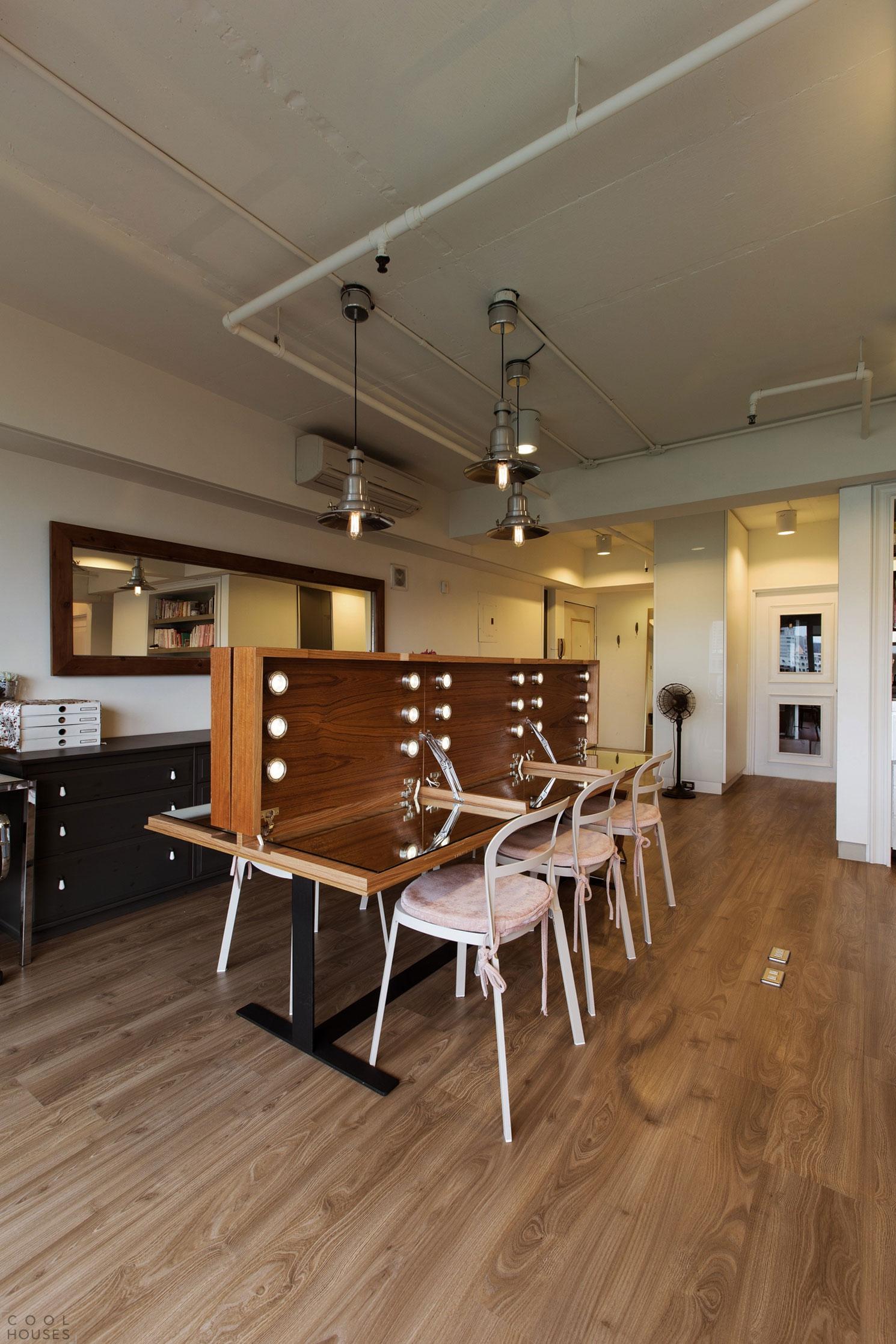 Квартира-студия в Тайване от PMK+designers