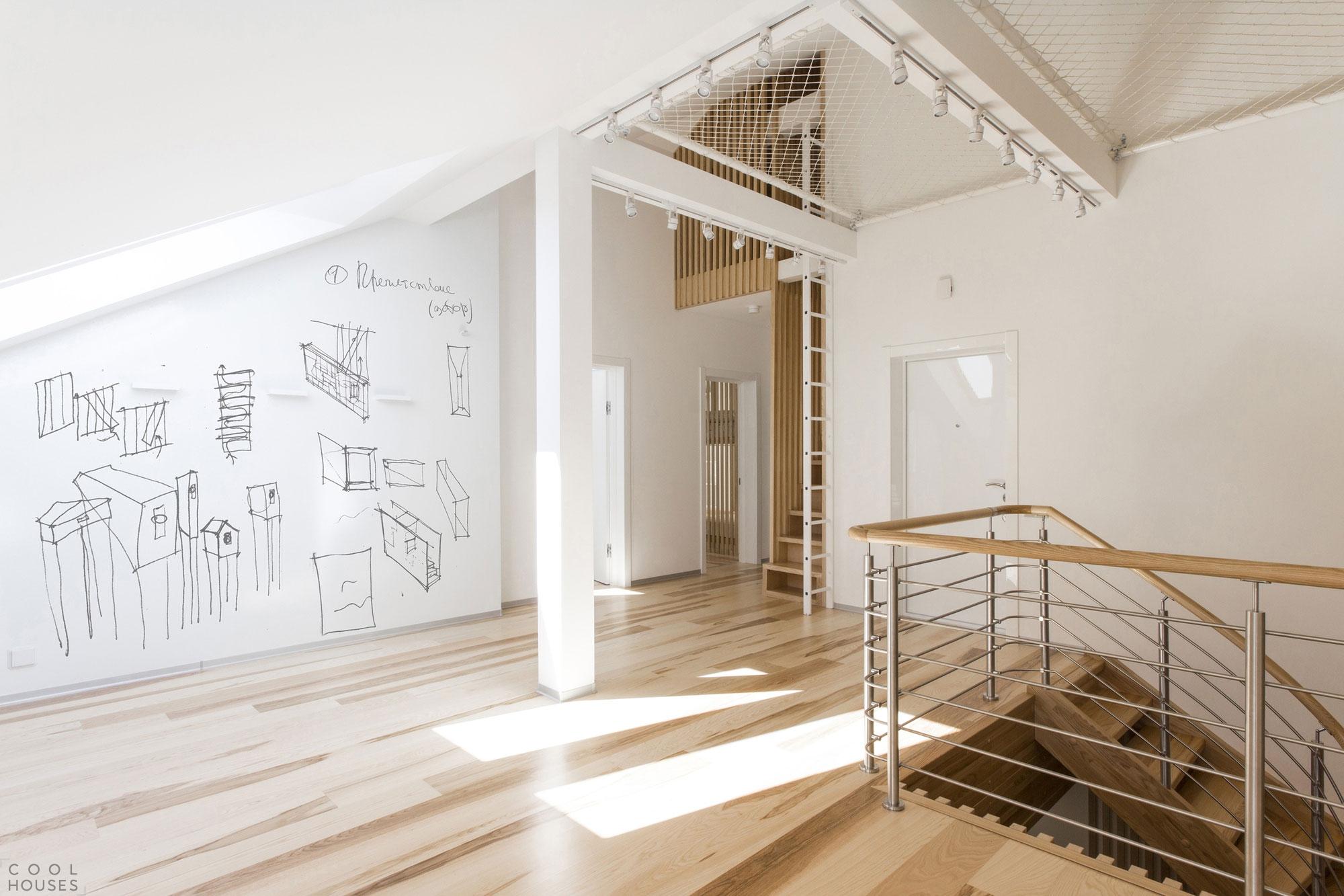 Лофт апартаменты в Москве от студии Ruetemple