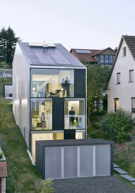 Немецкий таунхаус от студии FINCKH ARCHITEKTEN BDA