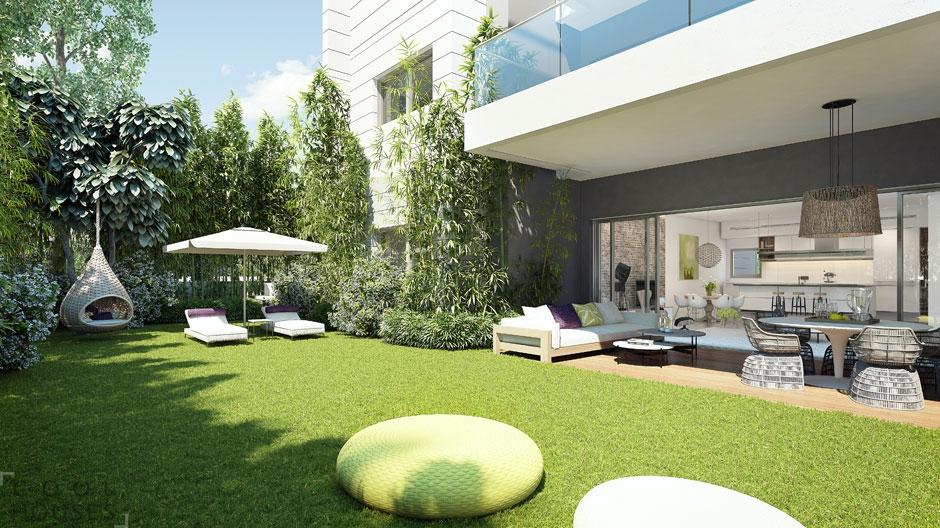 Оригинальный проект дома на холме от Ando Studio