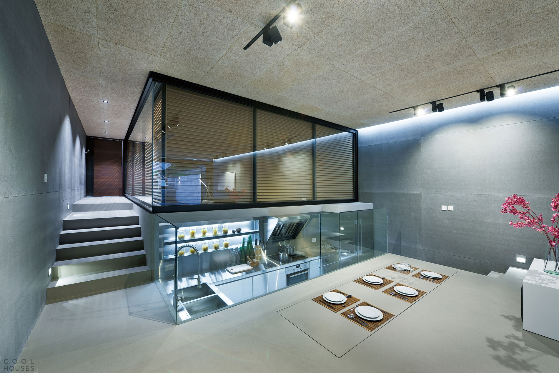 Проект дома Хай-Тек от Millimeter Interior Design