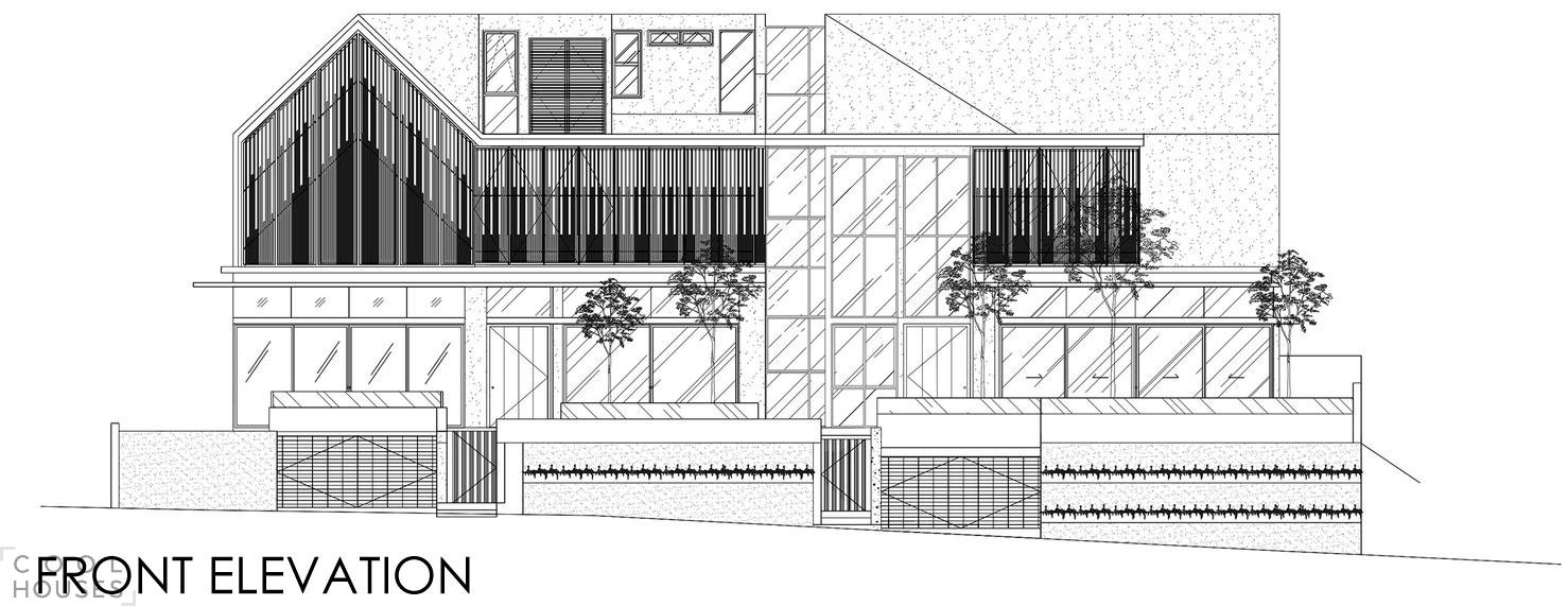 Проект реконструкции дома - фото от студии a-dlab