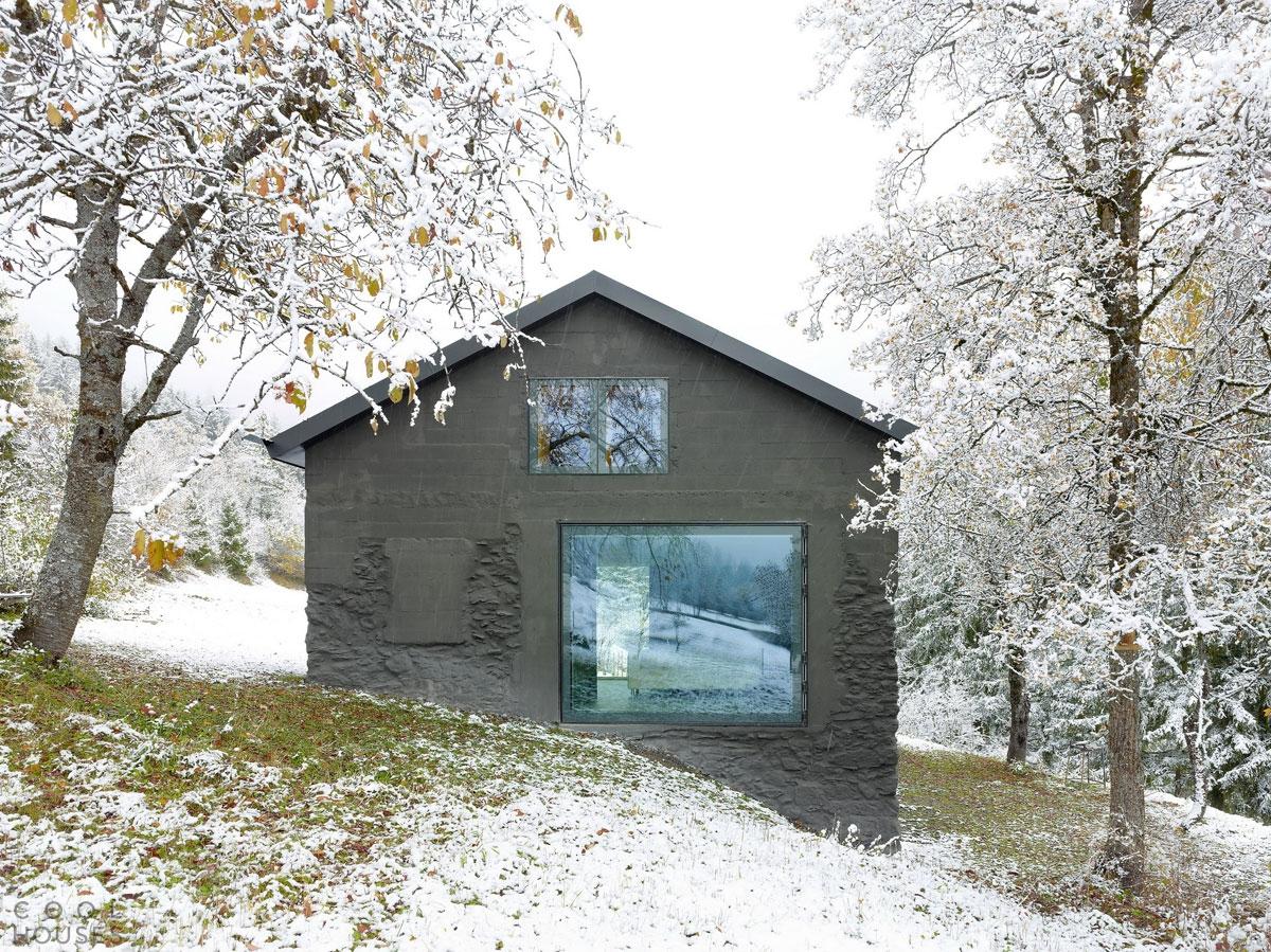 Проект - реставрация старого частного дома в Швейцарии