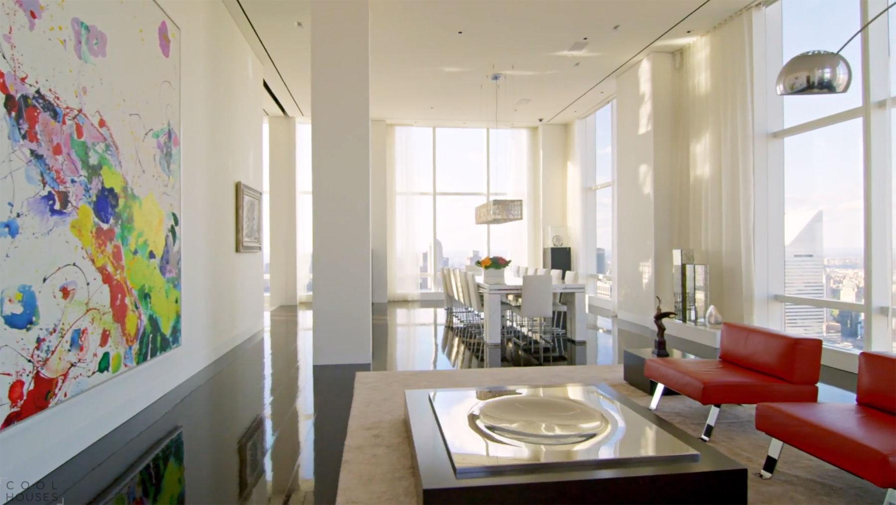 Роскошный пентхаус в Нью-Йорке от ODA Architecture