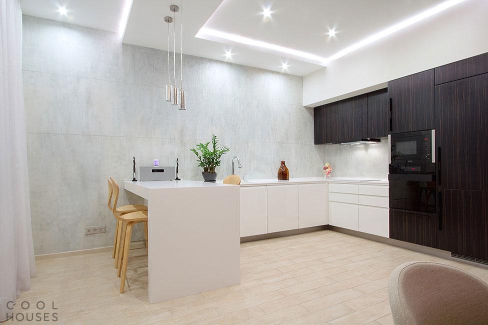 Современная квартира-студия в Санкт-Петербурге