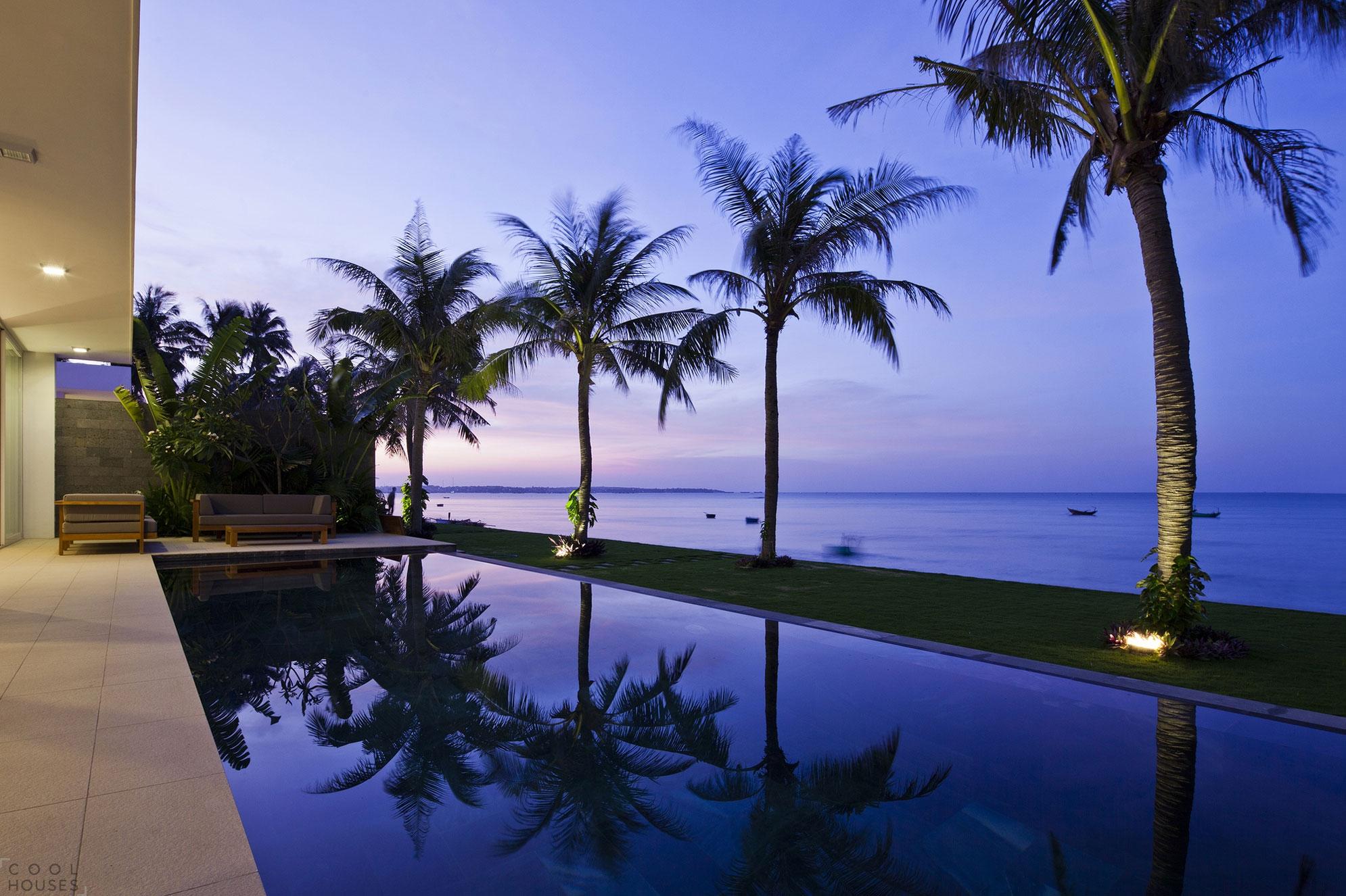 Современная вилла на морском курорте Муйна, Вьетнам