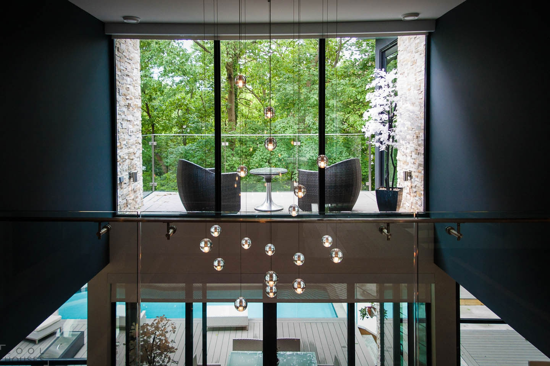 Современный загородный дом с элитным дизайном, Канада