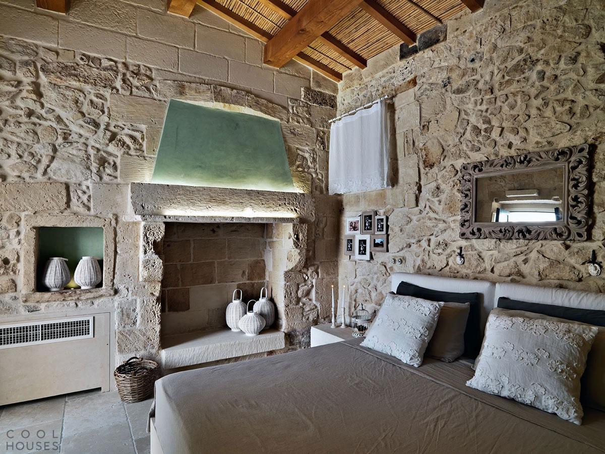 """Стилизованный дом-отель """" The Relais Masseria Capasa"""" в Италии"""