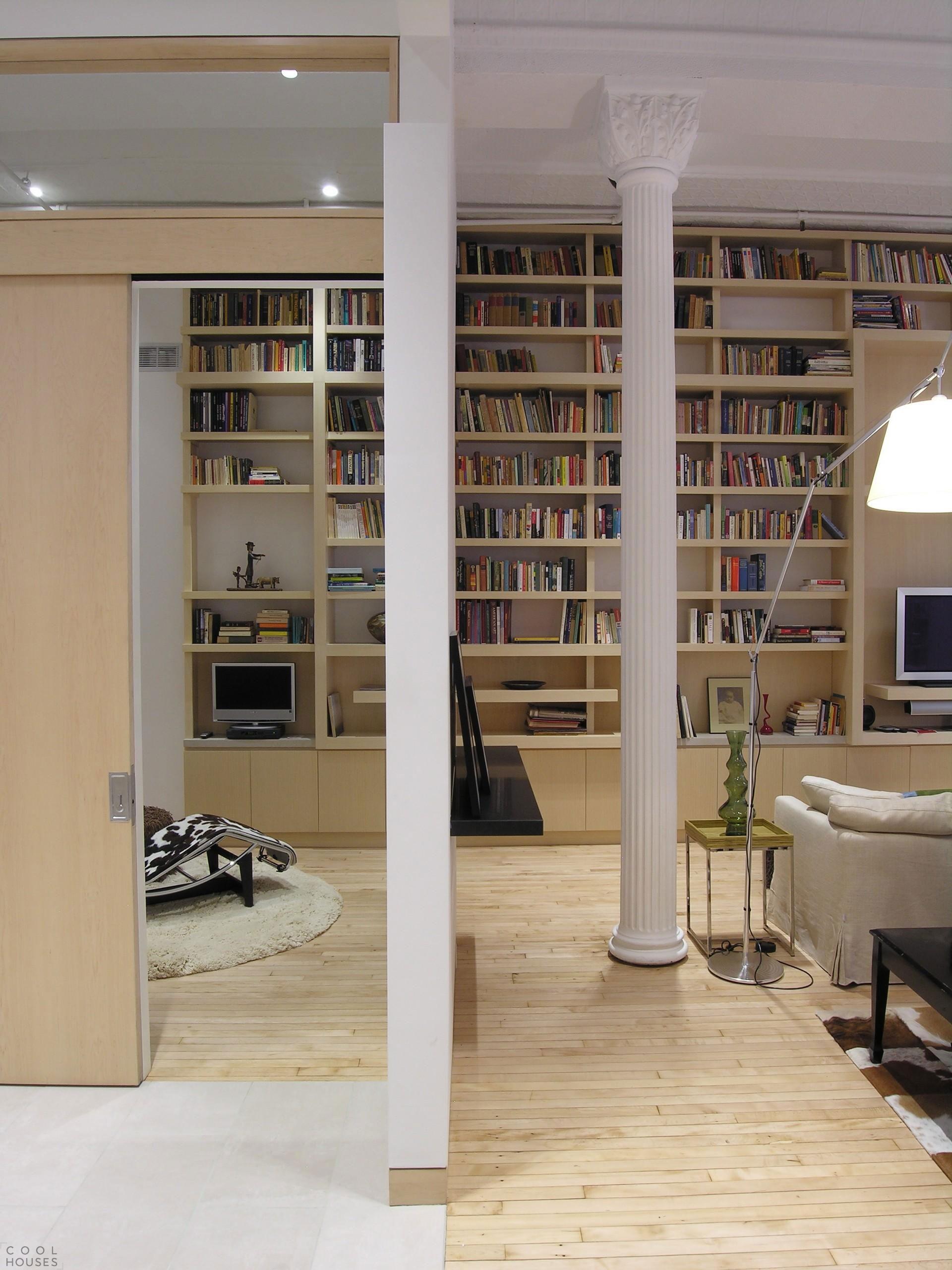 Светлый и уютный дом в стиле лофт в Нью-Йорка