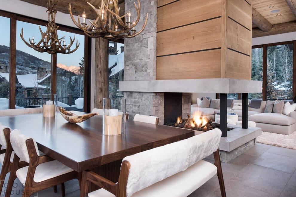 Шале в горнолыжном курорте Вейл, штат Колорадо, США.