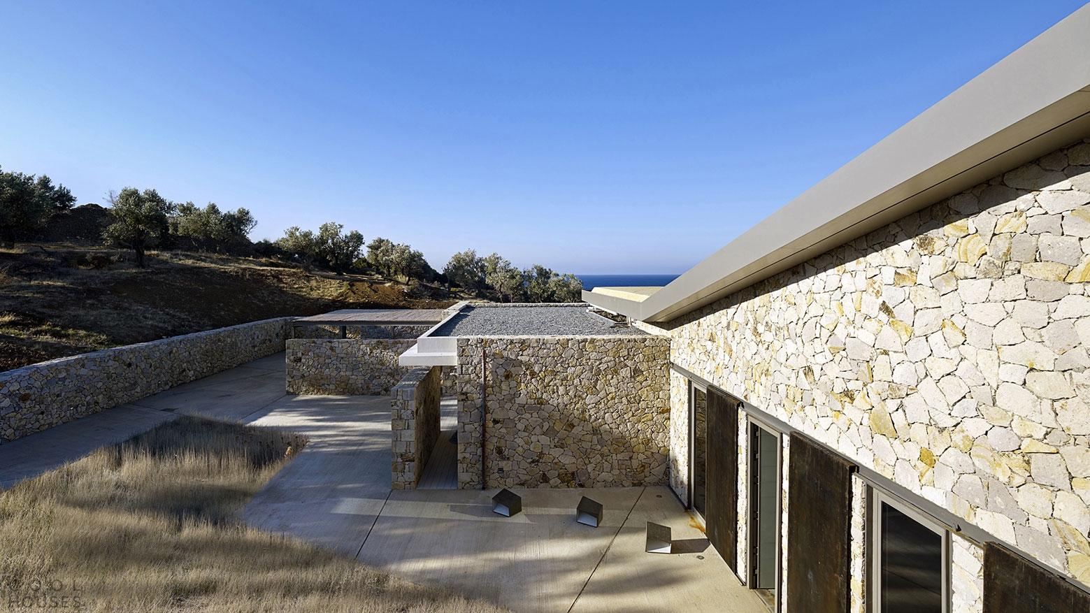 Шикарная резиденция на побережье Эгейского моря