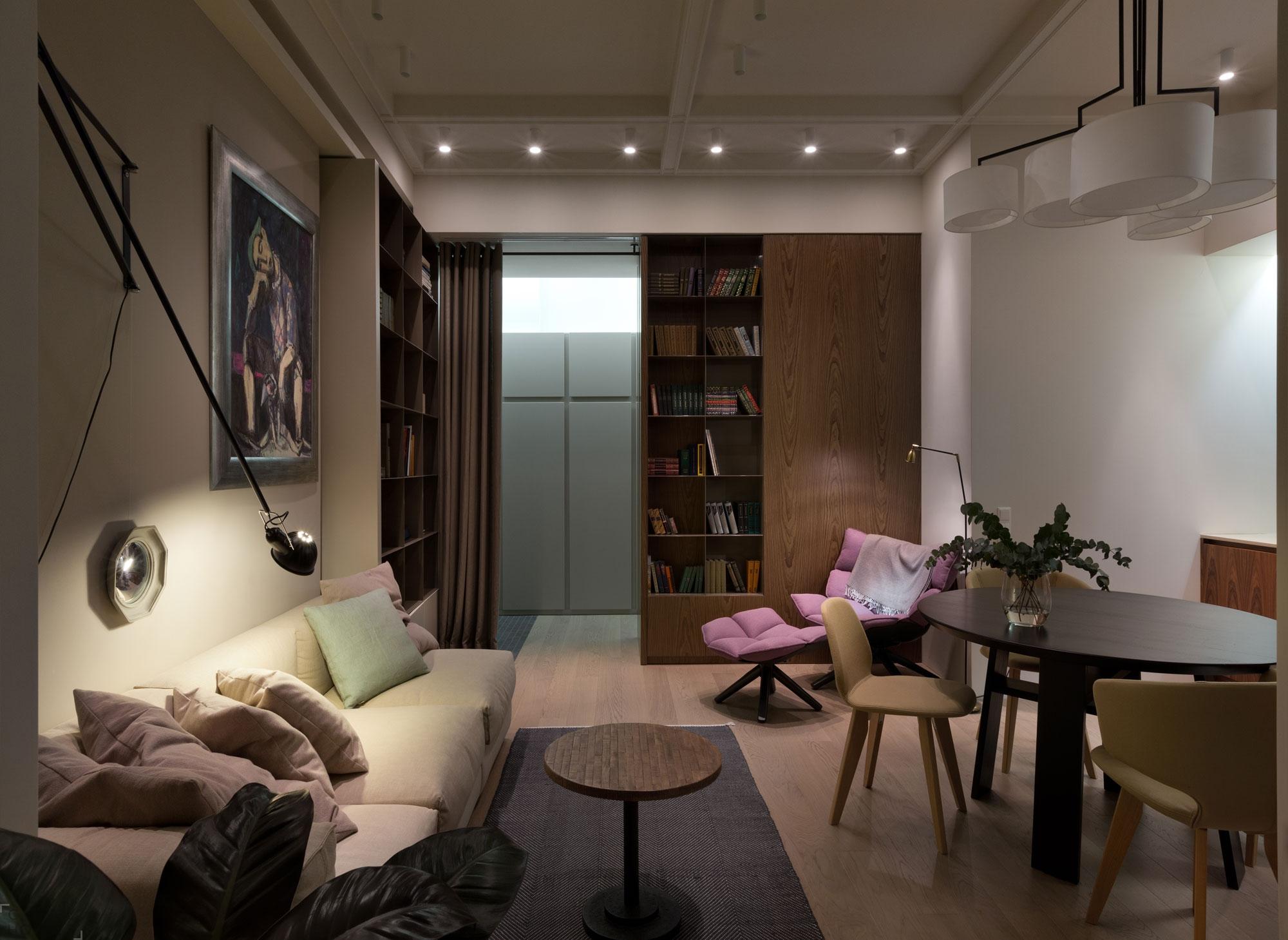 Современная квартира в Киеве от дизайнера Ольги Акуловой