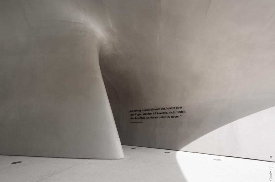 Новый павильон Порше от студии HENN