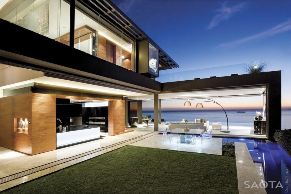 Большой дом в Южной Африке от SAOTA