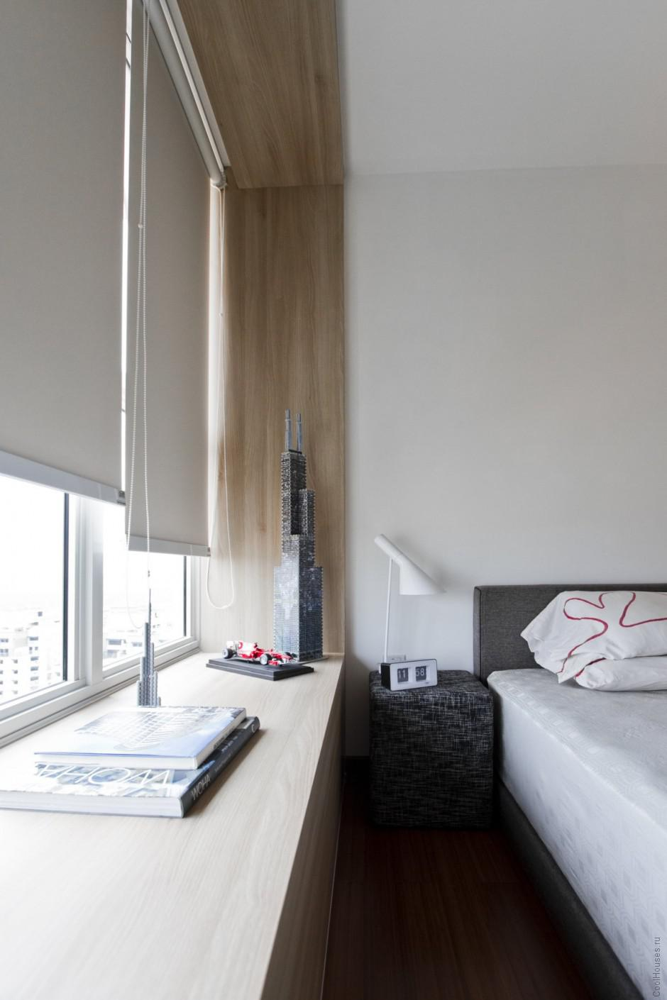 Идеи дизайна квартиры от студии AO Studios