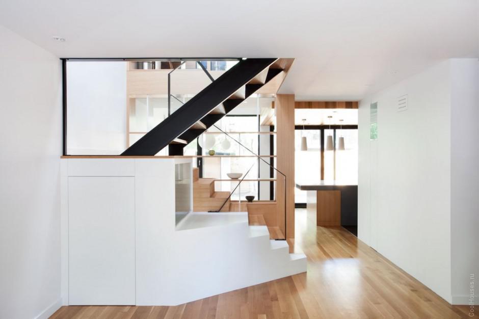 Продуманный интерьер маленького дома в Канаде