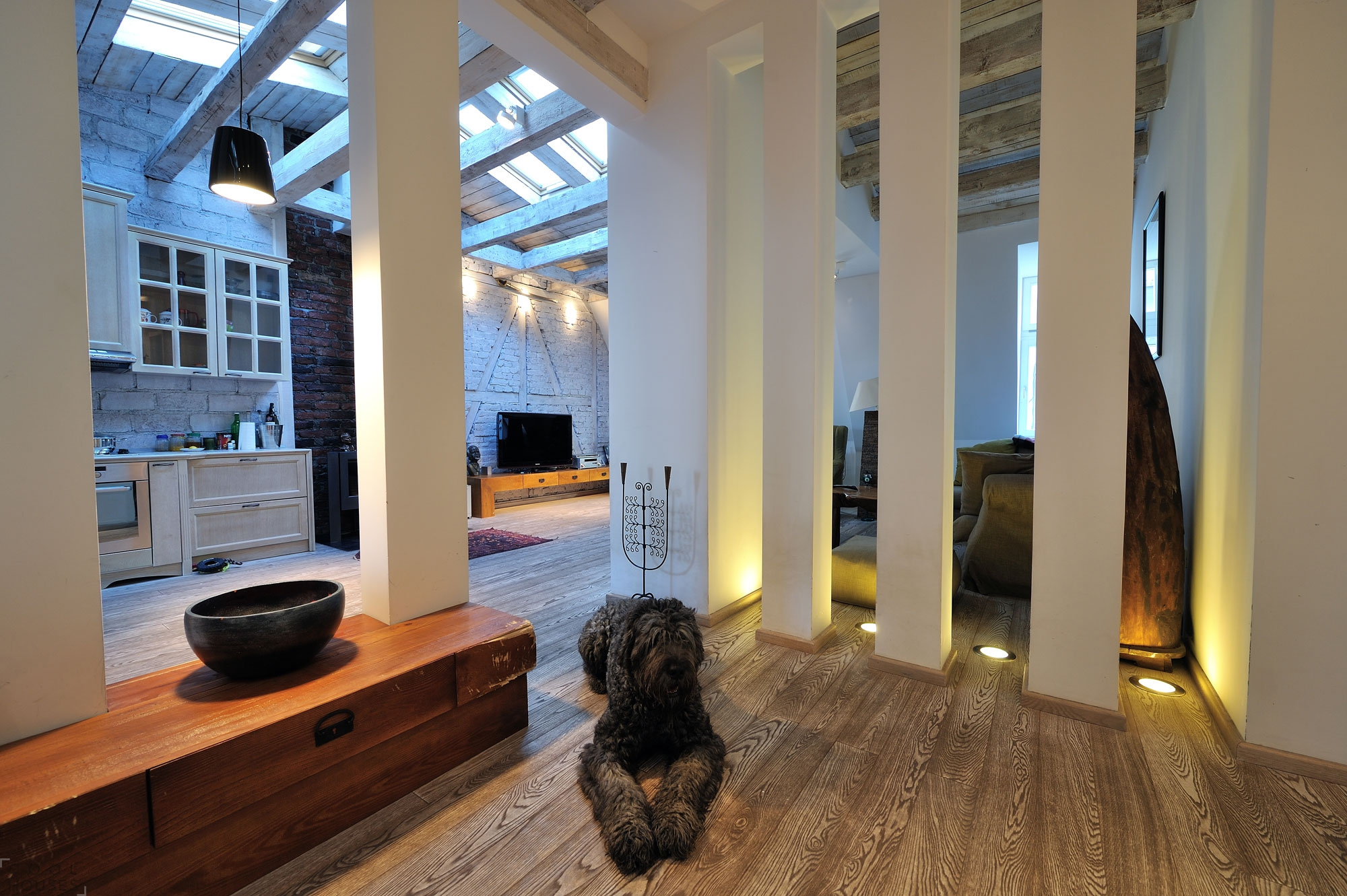 Апартаменты лофт от студии PUJO.RS