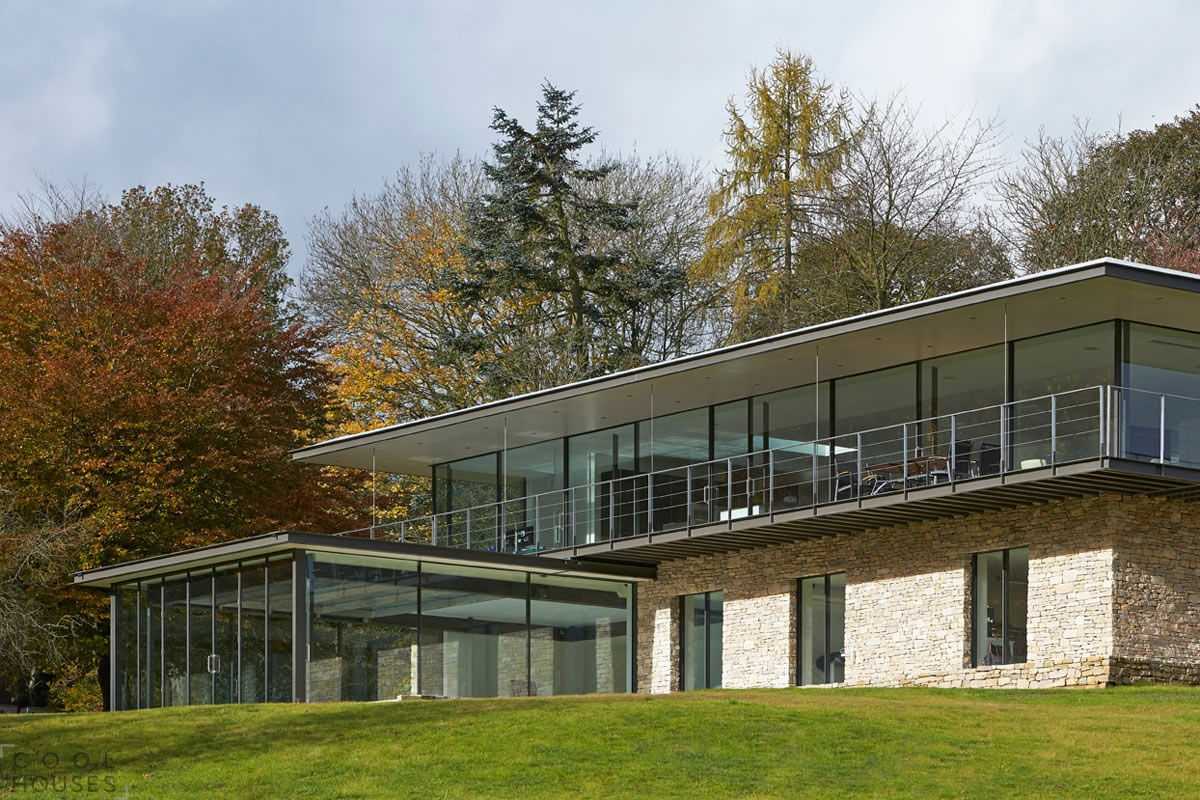 Частная резиденция в Англии по проекту студии The Manser Practice